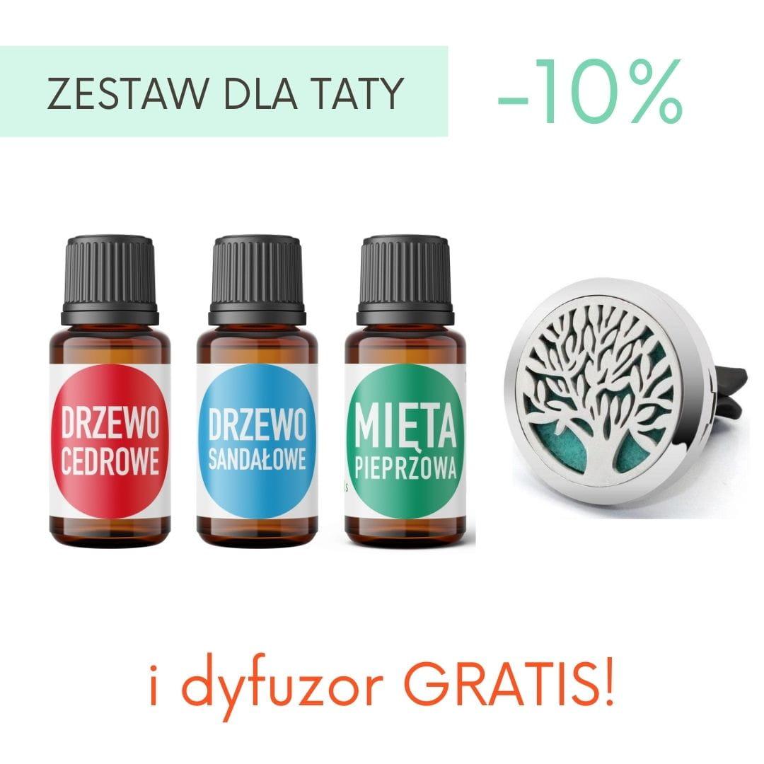 ZESTAW DLA TATY: 3 olejki + DYFUZOR GRATIS